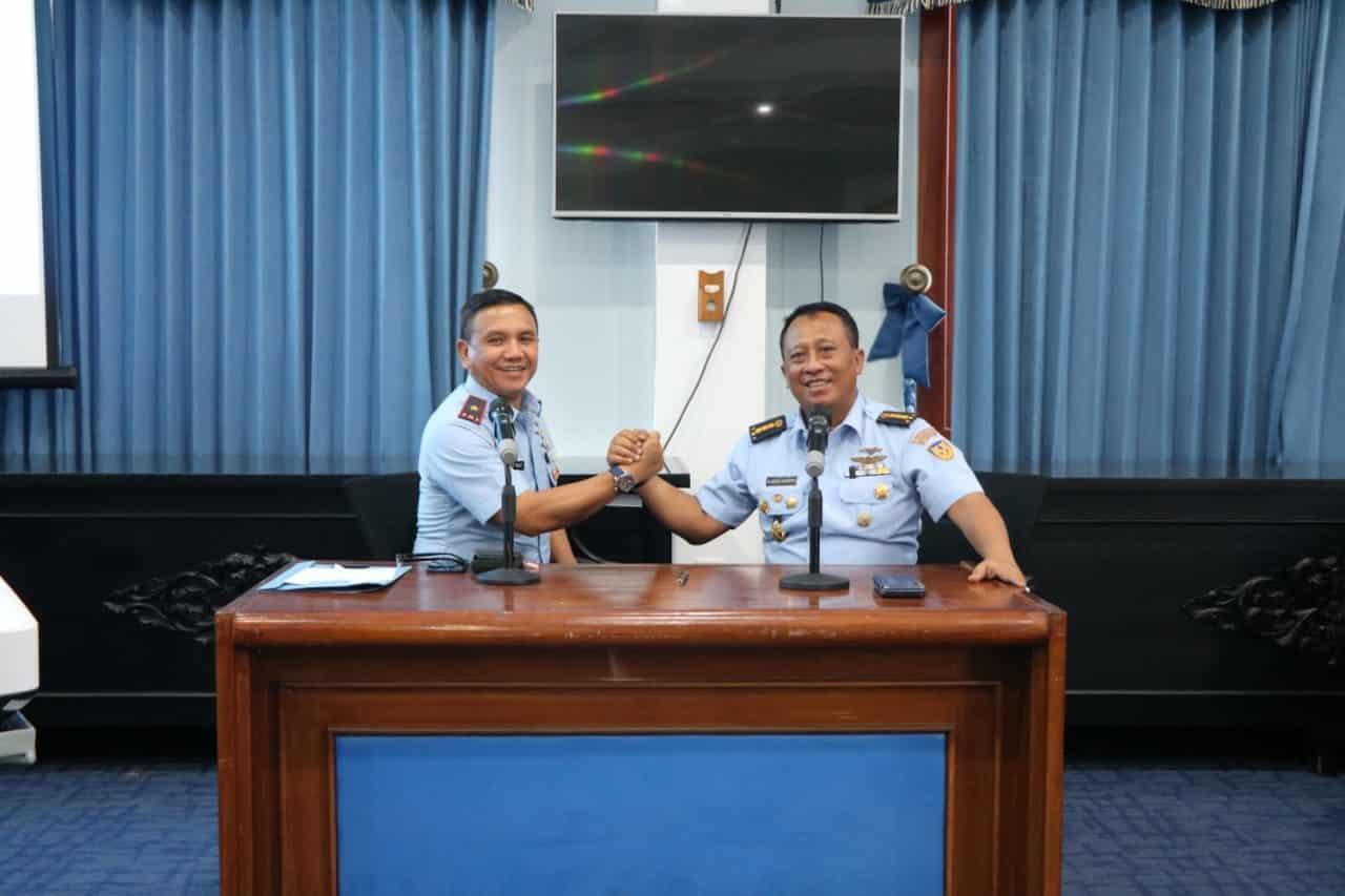 Pelatihan Operator Aplikasi Simtelog Bidang Logistik Disinfolahtaau di Lanud Abd Saleh