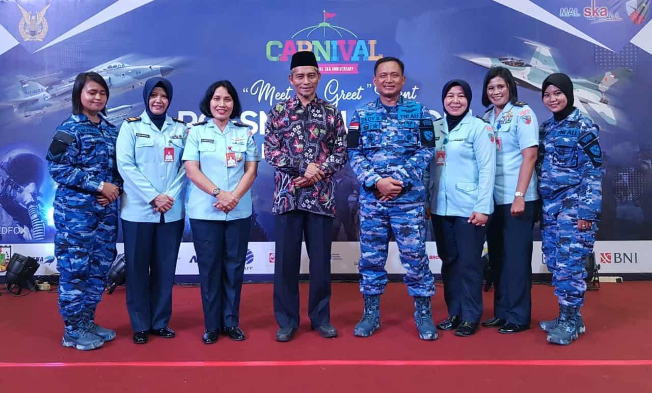 Srikandi Lanud Rsn Meriahkan Air Force Expo