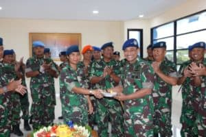 Pangkoopsau III, Pencapaian Kenaikan Pangkat Berkat Peran dan Dukungan Dari Keluarga
