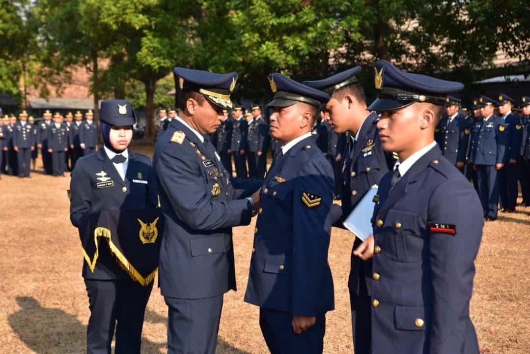 105 Personel Lanud Halim Perdanakusuma Naik Pangkat