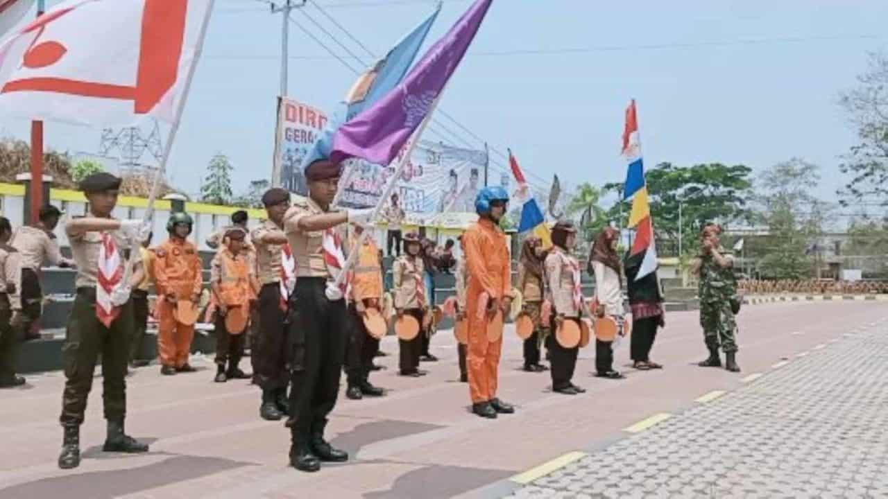 Prajurit Paskhas BKO Satrad 216 Cibalimbing Sukseskan Saka Dirgantara