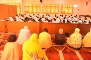 Personil Koharmatau baik muslim maupun non muslim melaksanakn kegiatan keagamaan yng rutin dan wajib dilaksanakan setiap hari Rabu di Mako Koharmatau
