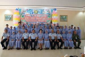 PIA Ardhya Garini Cabang 2/Daerah II Lanud Iswahjudi gelar lomba Vocal group Skadron Udara 14 jadi jawara
