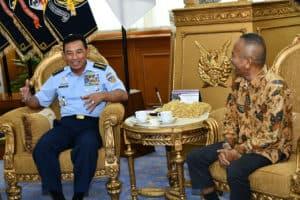 Kasau Terima Kunjungan Ketua Umum PWI Pusat