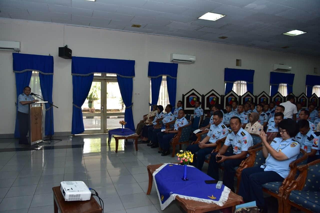Personel Lanud Halim Perdanakusuma Ikuti Ceramah DBD