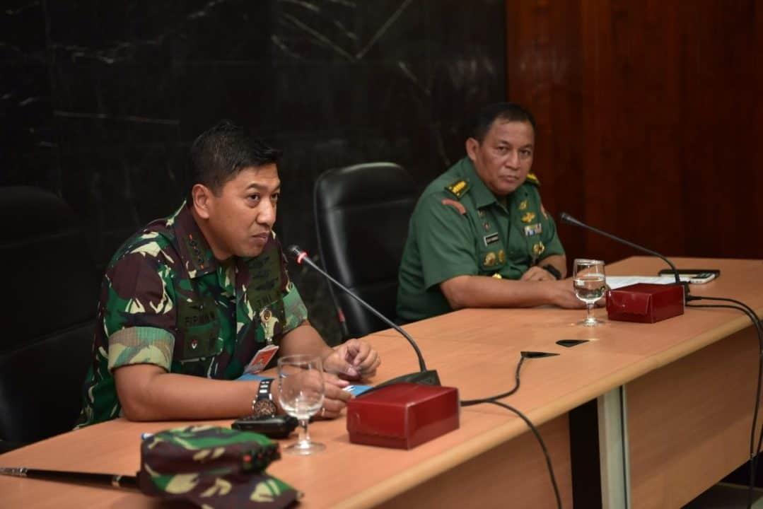 Exit Briefing Akhiri Wasrik ItjenTNI di Lanud Halim Perdanakusuma
