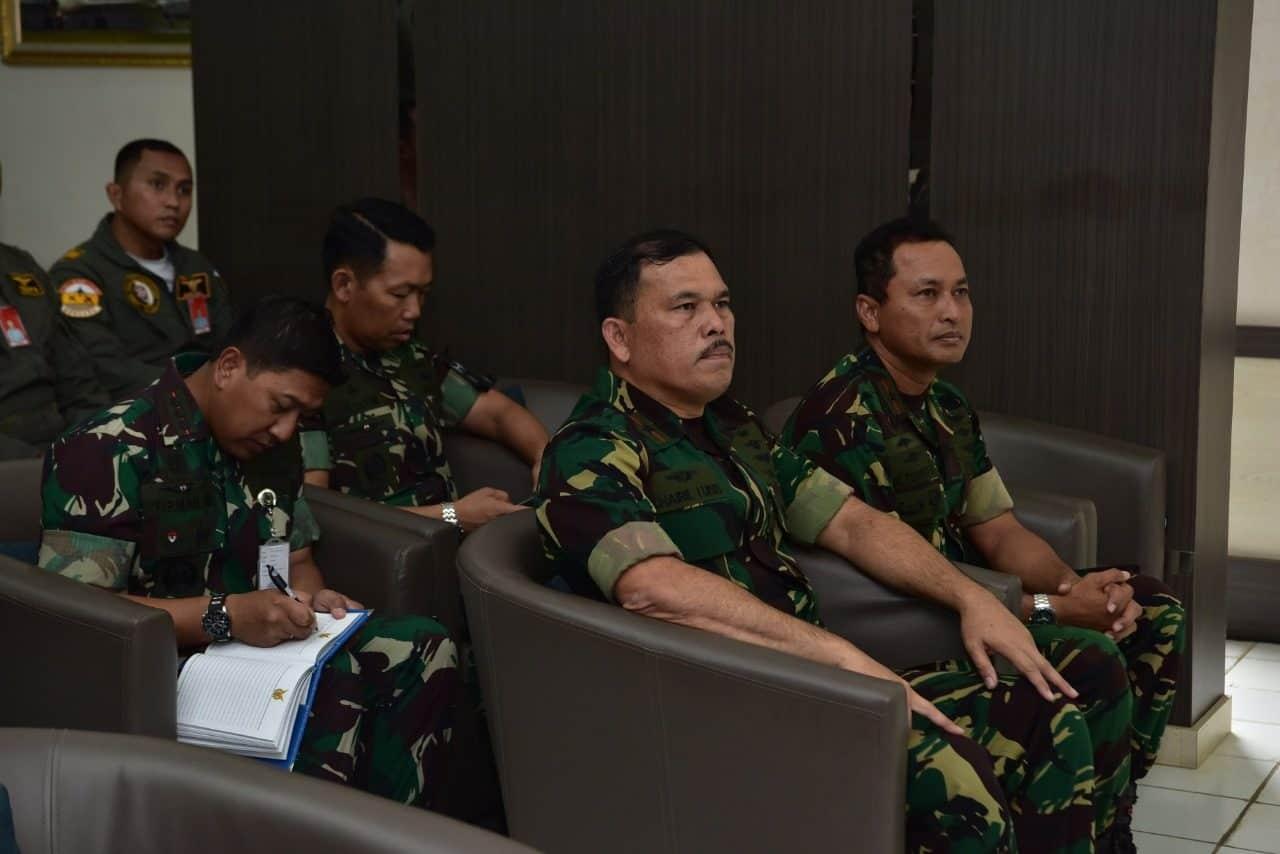 Kasau Memberikan Pengarahan dalam Pengamanan Pelantikan Persidendan Wakil Presiden