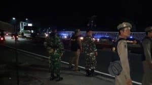 Ciptakan Suasana Kondusif Jelang Pelantikan Presiden dan Wakil Presiden, TNI Polri Lakukan Patroli Bersama