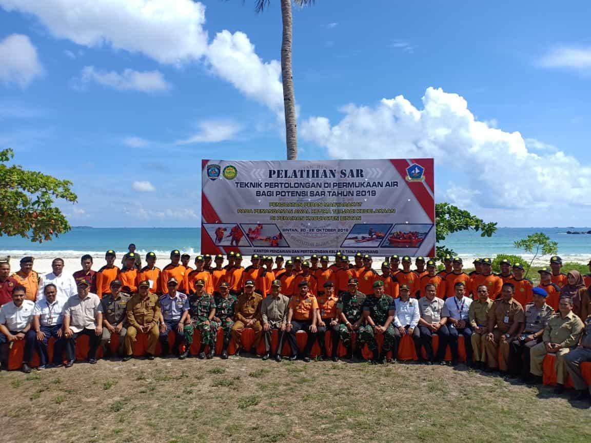 Danlanud RHF Hadiri Pembukaan Pelatihan SAR Teknik Pertolongan di Permukaan Air