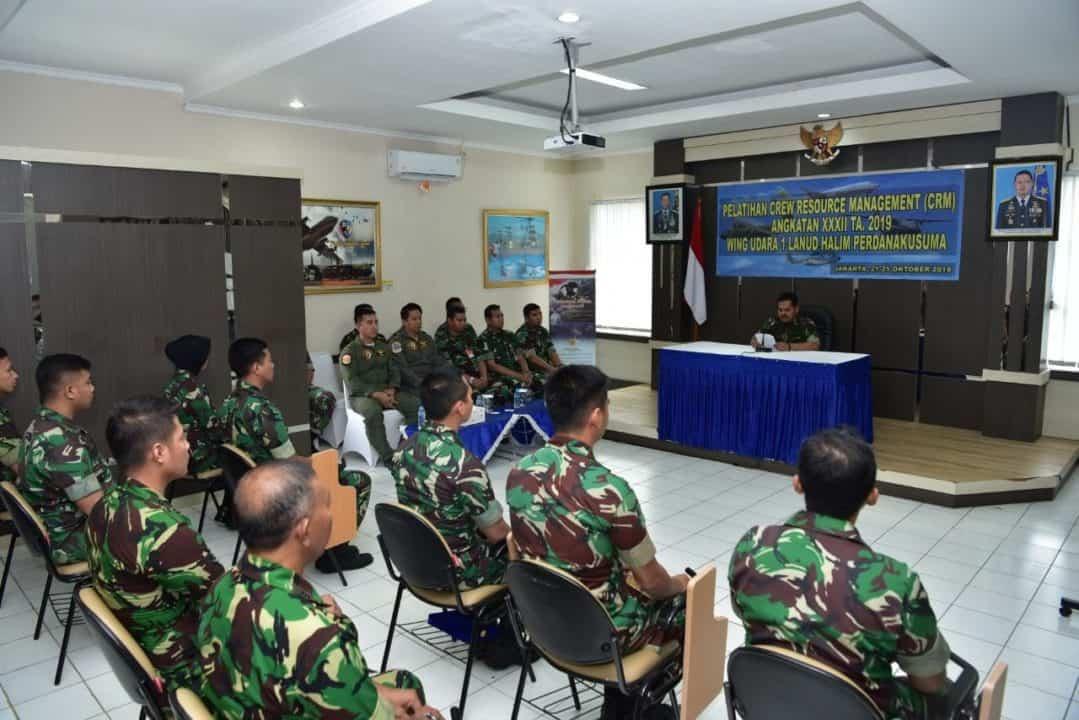 Pelatihan CRM Angkatan Ke-32 Lanud Halim Perdanakusuma Ditutup