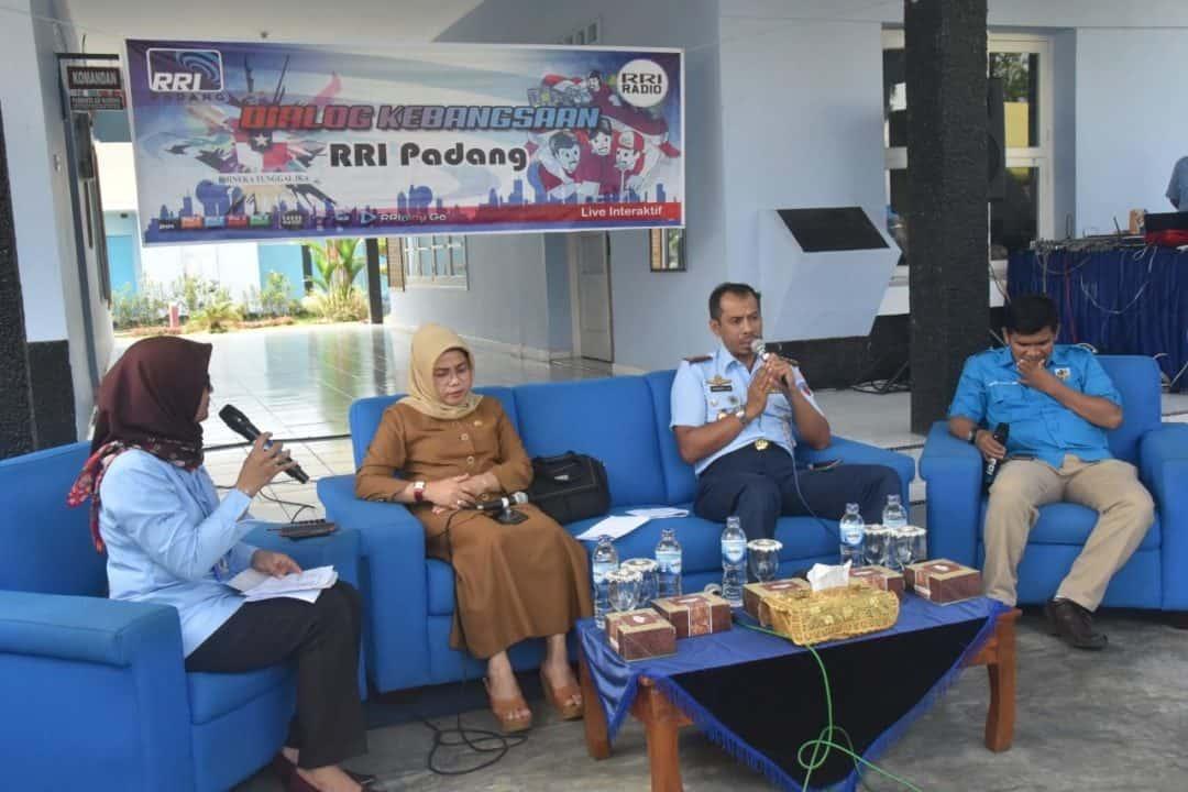 Peringatan Hari Sumpah Pemuda ke-91 tahun 2019 kali ini disemarakkan dgn acara dialogis RRI stasiun Sumbar bertempat di Mako Lanud Sutan Sjahrir Padang.