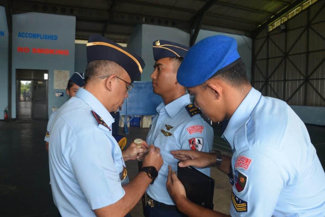 Danlanud Supadio Tutup Dikkualsus Kursus Pemeliharaan Pesawat PTTA