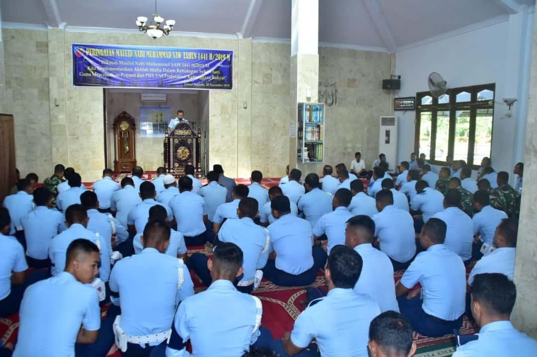 Keluarga Besar Lanud Supadio Peringati Maulid Nabi Muhammad SAW