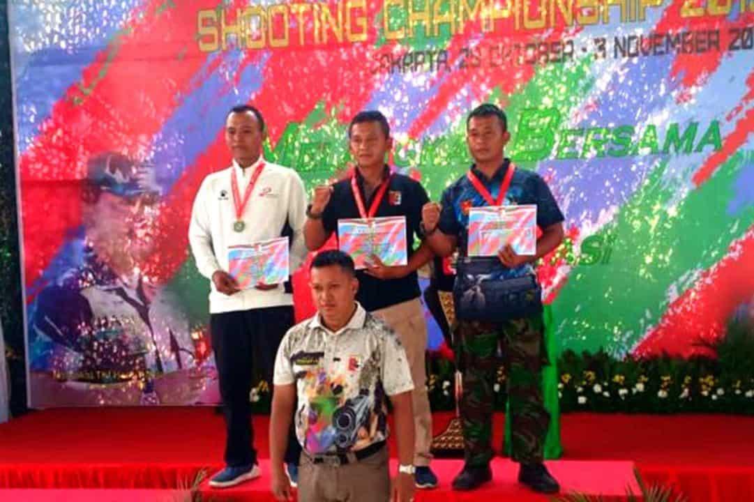 Yonko 461 Paskhas Juara 1 Kejurnas Pang TNI Cup 2019