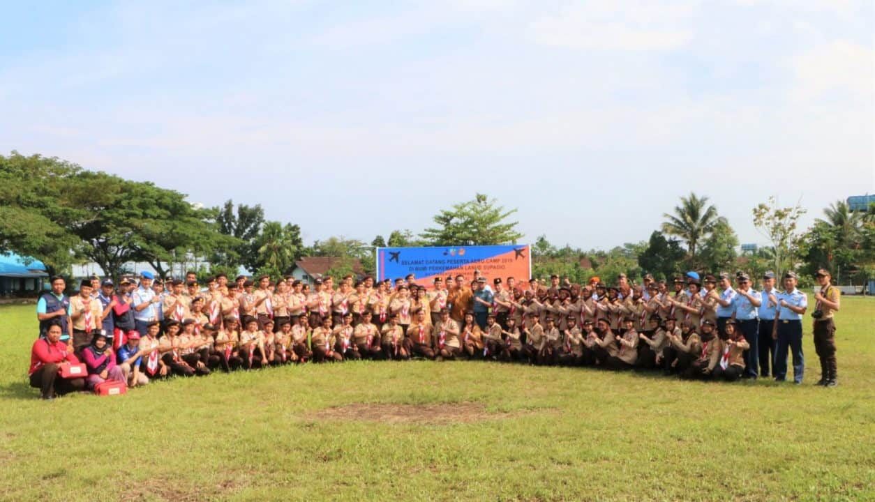 Penutupan Aero Camp Tahun 2019 di Lanud Supadio