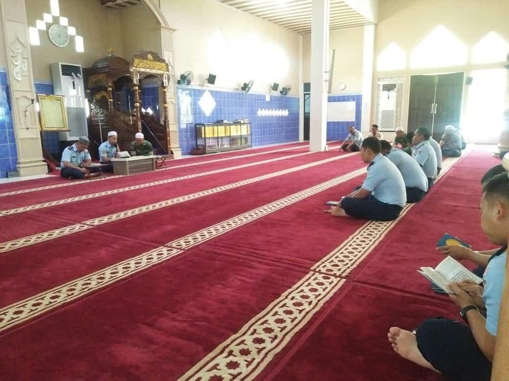 Meningkatkan Kadar Keimanan dan Ketakwaan Seluruh Anggota Lanud Sjamsudin Noor