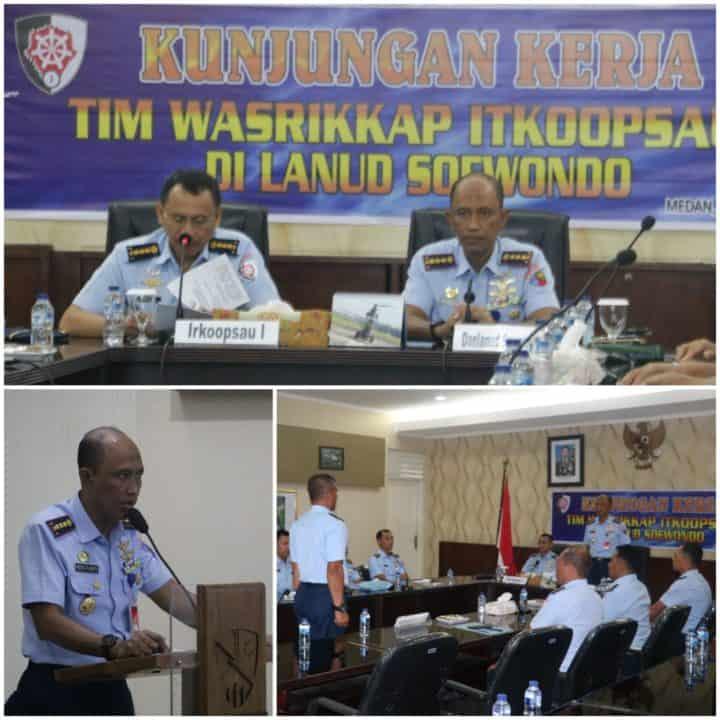 Tim Itkoopsau I Melaksanakan Wasrikkap Di Lanud Soewondo