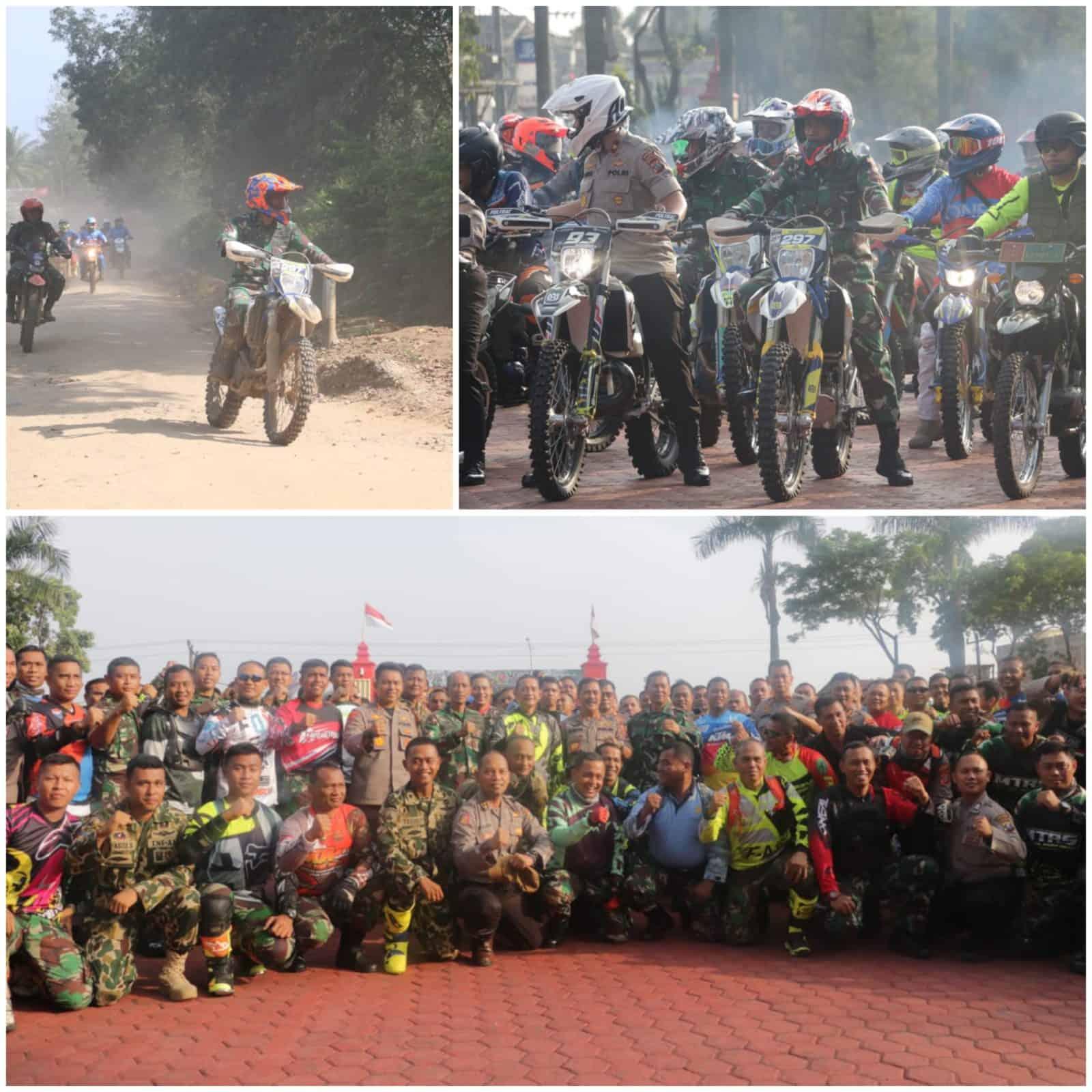 Danlanud Soewondo Ikuti Trail Bersama TNI Polri Menjalin sinegitas dan soliditas untuk kesejahteraan masyarakat.