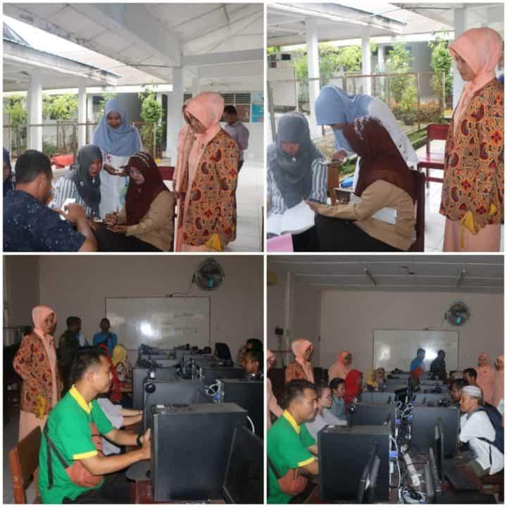 Yasarini Cabang Lanud Soewondo Laksanakan UKG Tahap IV Bagi Guru Sekolah Angkasa Medan
