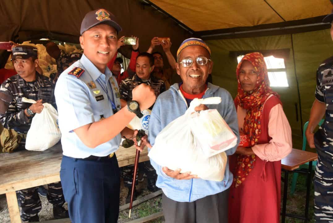 DANLANUD WIRIADINATA HADIRI PERESMIAN BAKTI TNI AL TA 2019 DI CIPATUJAH
