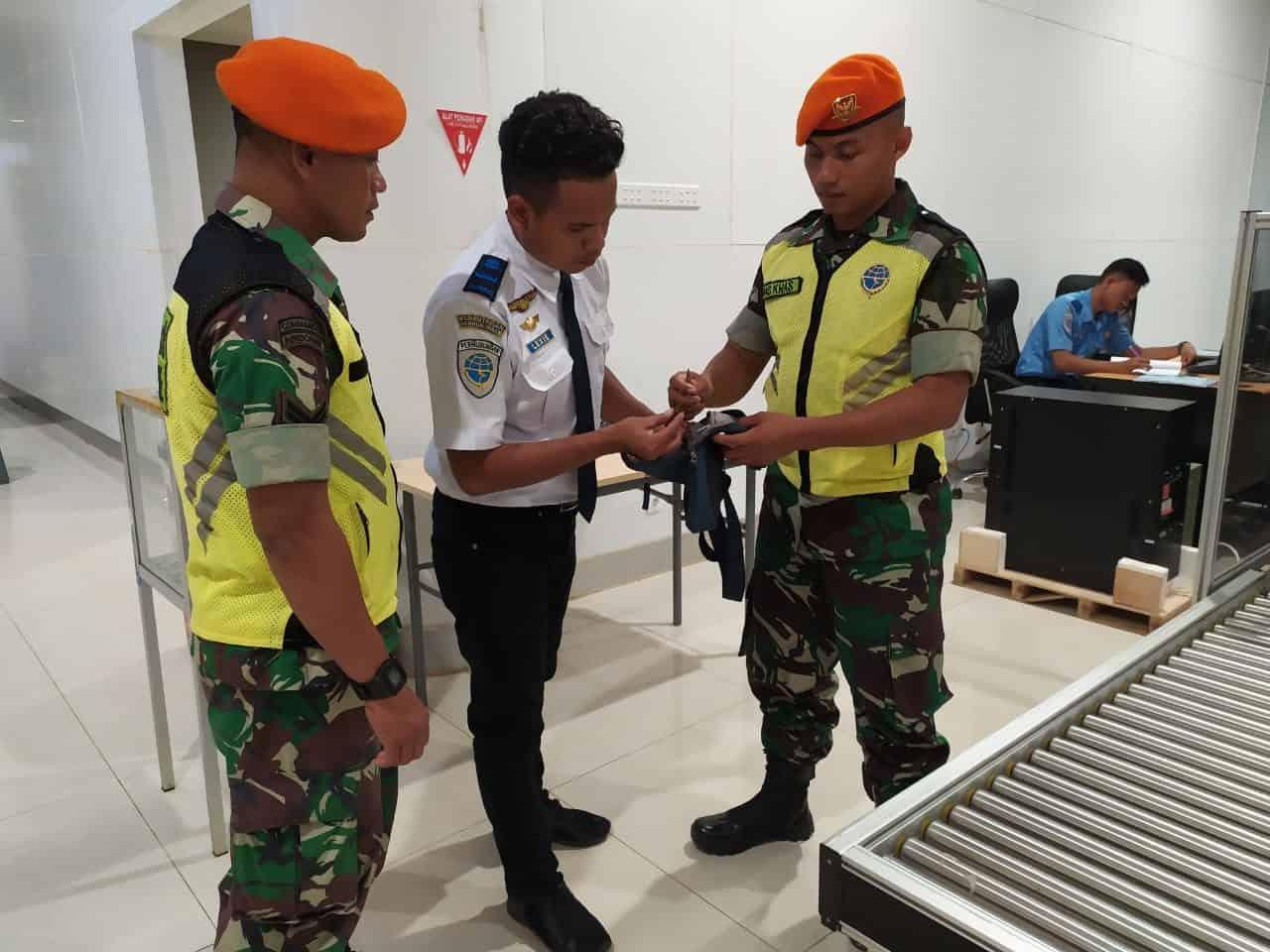 Satgas Pamrahwan Yonko 462 Paskhas Gagalkan Pegerakan Munisi Tajam di Bandara Merauke