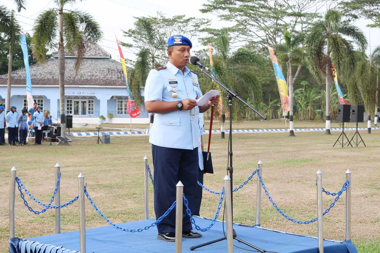 Peringatan ke-73 Hari Ulang Tahun Pomau di Lanud Pangeran M. Bun Yamin