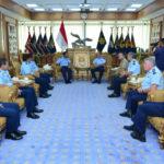 Kasau Terima Kunjungan Delegasi RAAF Joint Working Group