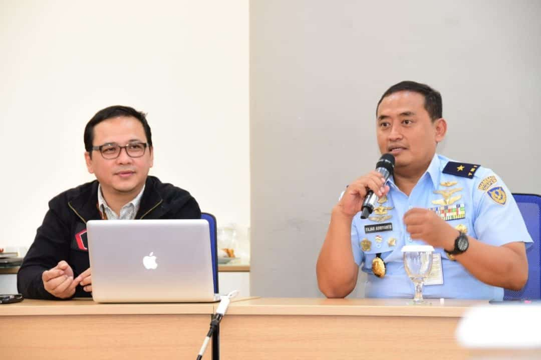 Dispen TNI AU Berguru ke Kompas TV