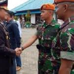 Satgas Pamrahwan Yonko 462 Paskhas Hadiri Upacara Hari Pahlawan