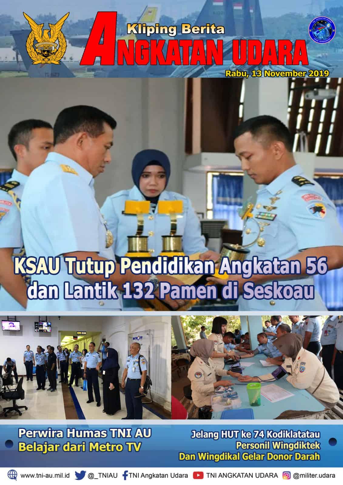 Kliping Berita Media 13 November 2019