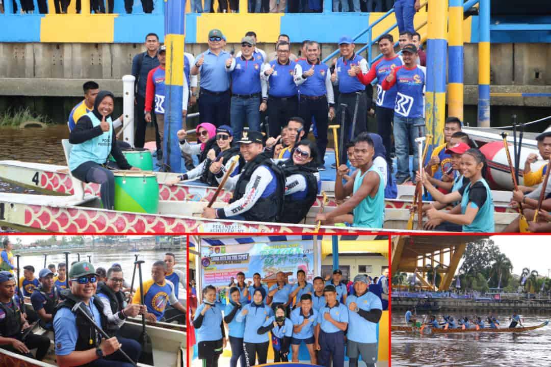 Danlanud Rsn Hadiri Dragon Boat Race Festival Kapolda Cup 2019