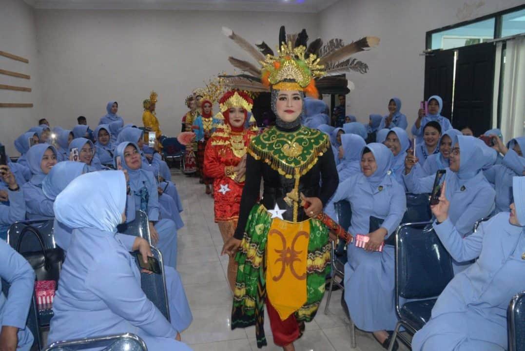 Lomba Paduan Suara dan Busana Tradisional Memperingati HUT PIA AG ke-63 Tahun 2019 di Lanud Sjamsudin Noor