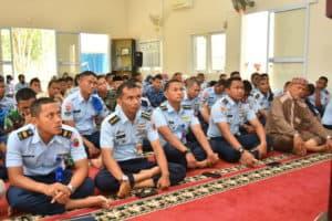 Prajurit Lanud RHF peringati Maulid Nabi Muhammad SAW 1441H/2019M