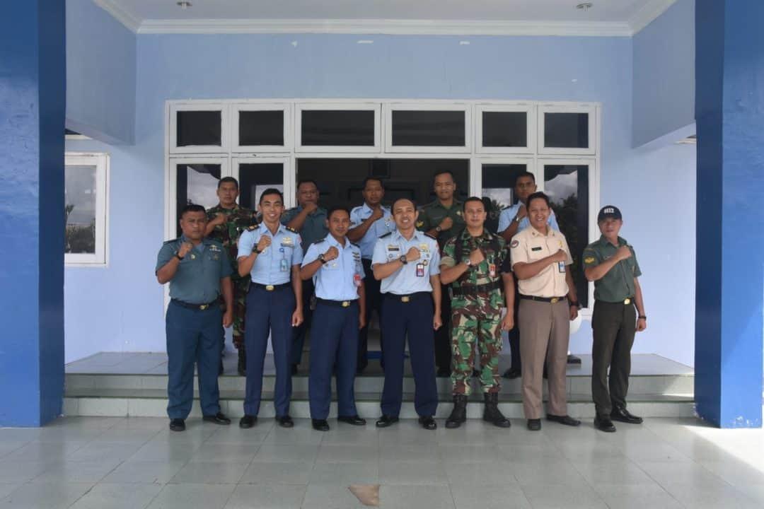 Untuk Meningkatkan Kemampuan Pelaksanaan Penerimaan Hibah di Lingkungan TNI, Pusku Kemhan dan TNI Mengadakan Sosialisasi di Lanud Maimun Saleh.