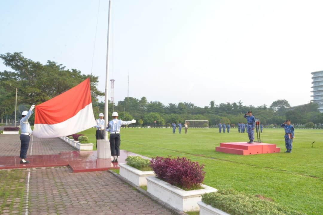 Upacara Bendera Mingguan Bulan November 2019 di Makosekhanudnas III