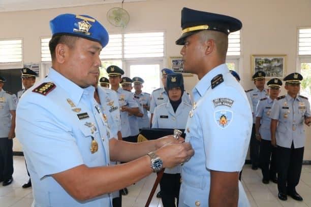 Komandan Lanud Adi Soemarmo Buka Pendidikan Sesarcab Pomau A-25 di Lanud Adi Soemarmo
