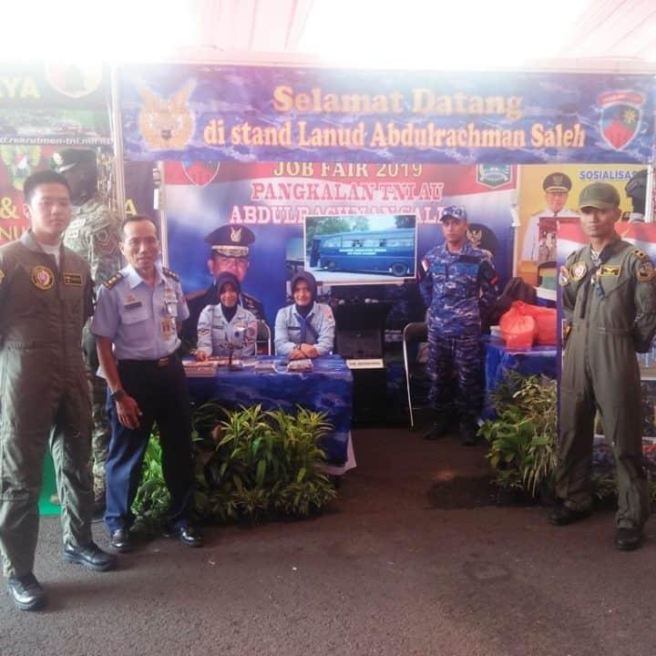 Lanud Abdulrachman Saleh Berpartisipasi dalam Job Fair Disnaker Kabupaten Malang 2019