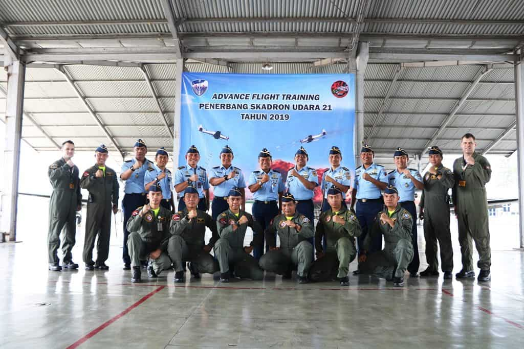 Kadisopslatau Buka Advance Flight Training 2019 di Lanud Abdulrachman Saleh