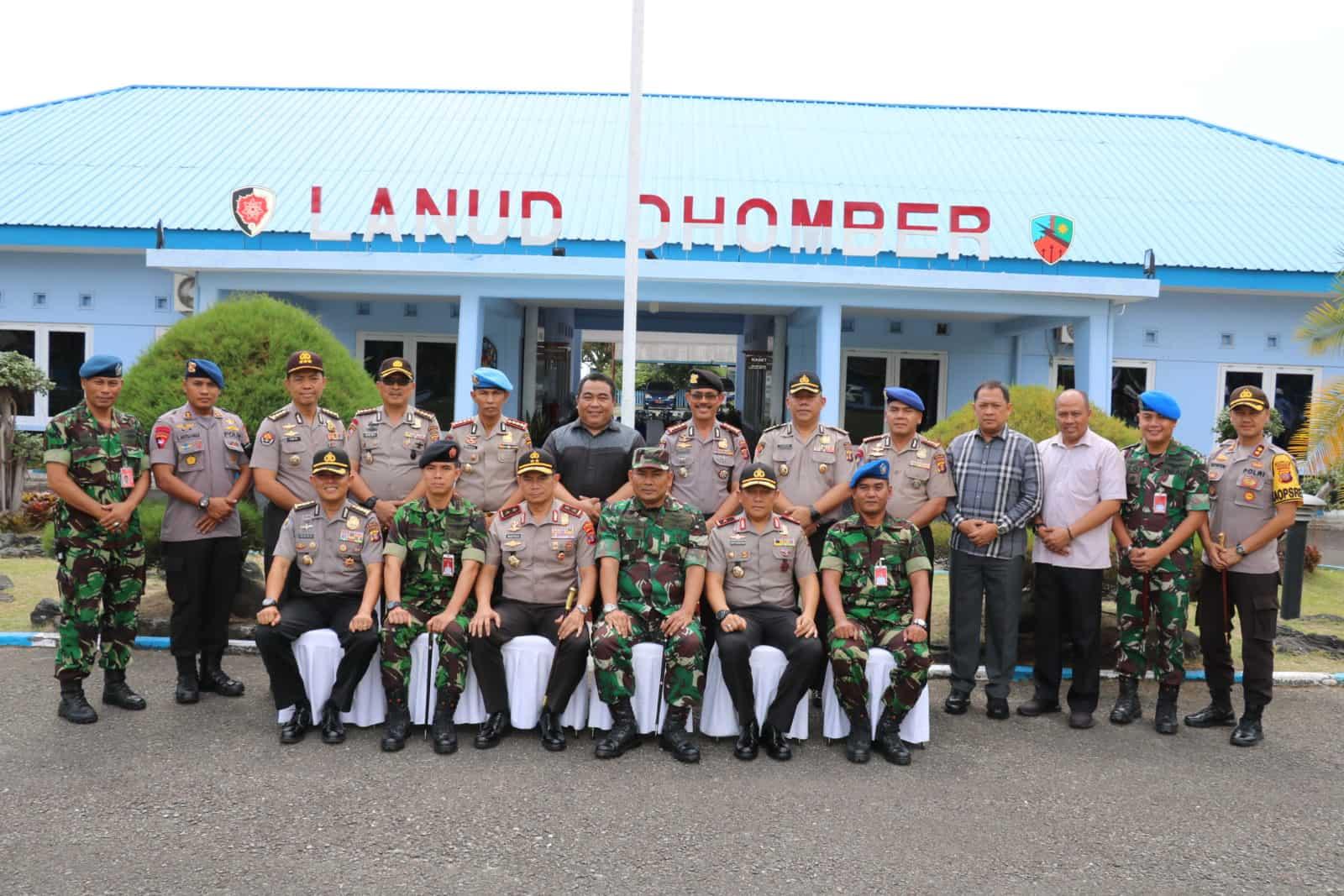 Jalin Silahturahmi, Kapolda Kaltim Kunjungi Lanud Dhomber