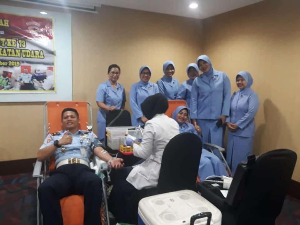 Satpomau Bakorda Bandung Laksanakan Bakti Sosial Donor Darah