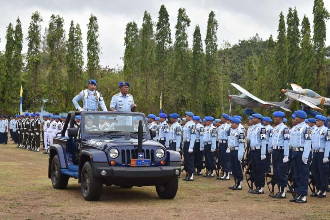 Danlanud Adisutjipto Pimpin Upacara Peringatan Hut Ke-73 Pomau