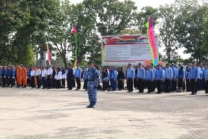 Upacara Peringatan Hari Pahlawan di Kabupaten Tulang Bawang