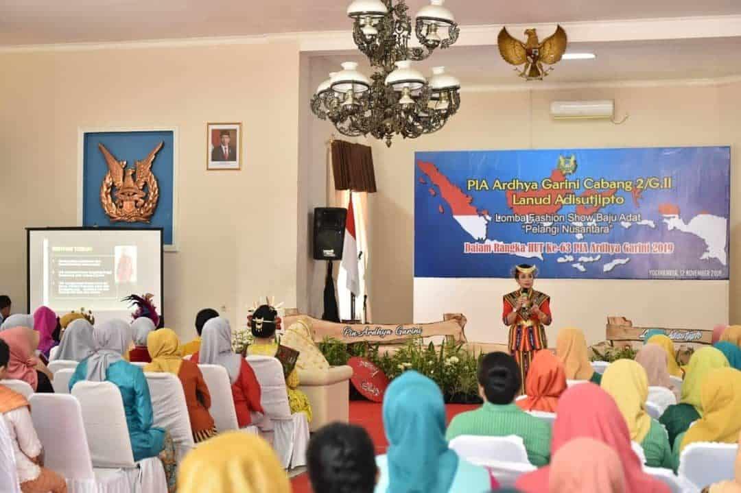 Pelangi Nusantara PIA Ardhya Garini Cab 2/Gab II Lanud Adisutjipto berlangsung semarak dan meriah