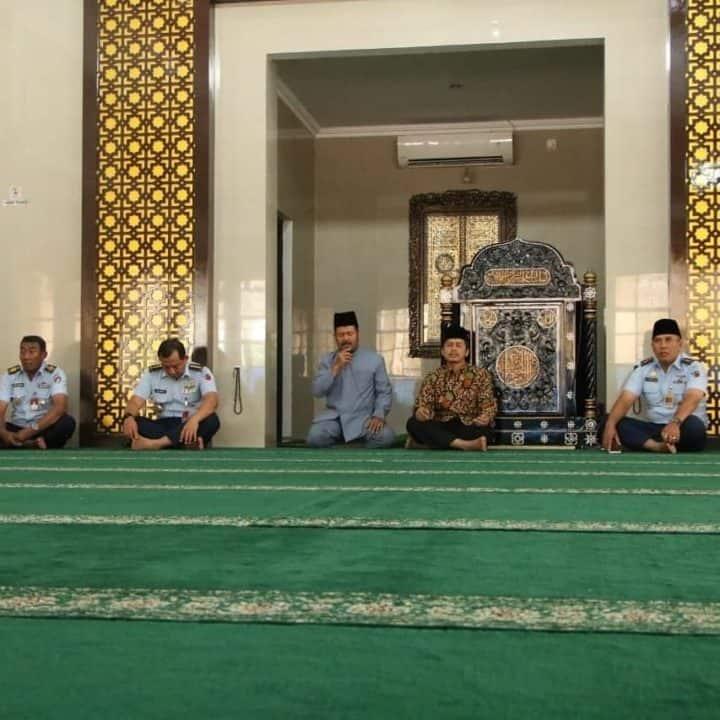 Jelang HUT Ke-74 Kodiklatau, Umat Islam Gelar Doa Bersama di Masjid Abdurrochim Lanud Adisutjipto
