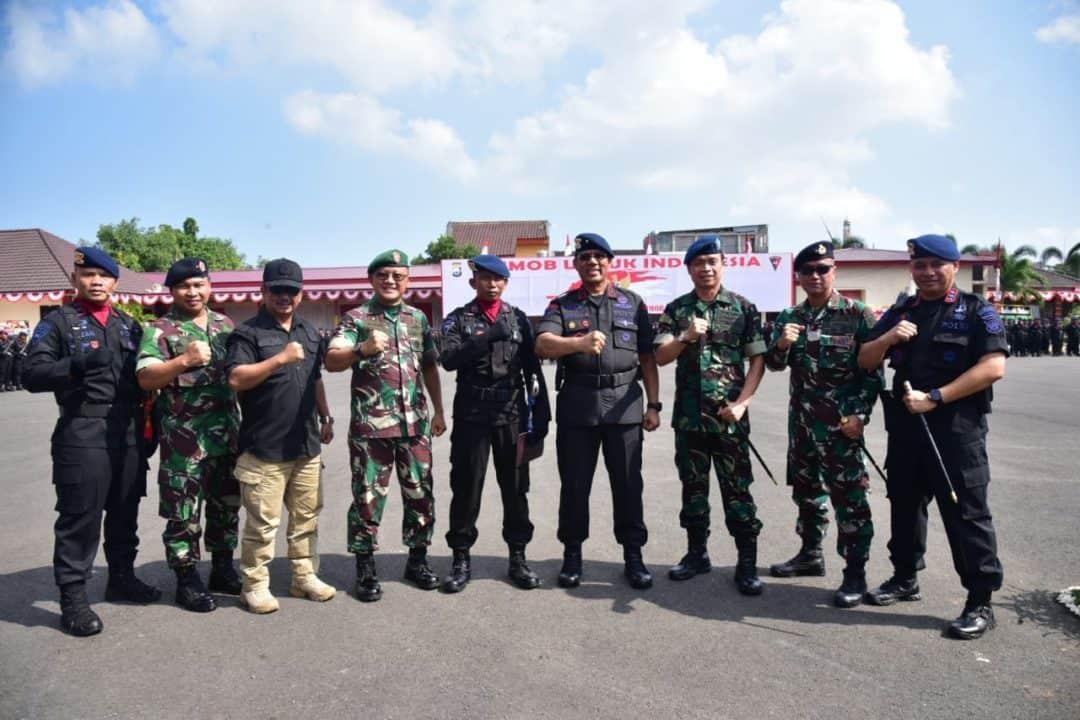 Danlanud Sultan Hasanuddin Hadiri HUT ke-74 Korps Brimob Polda Sulsel