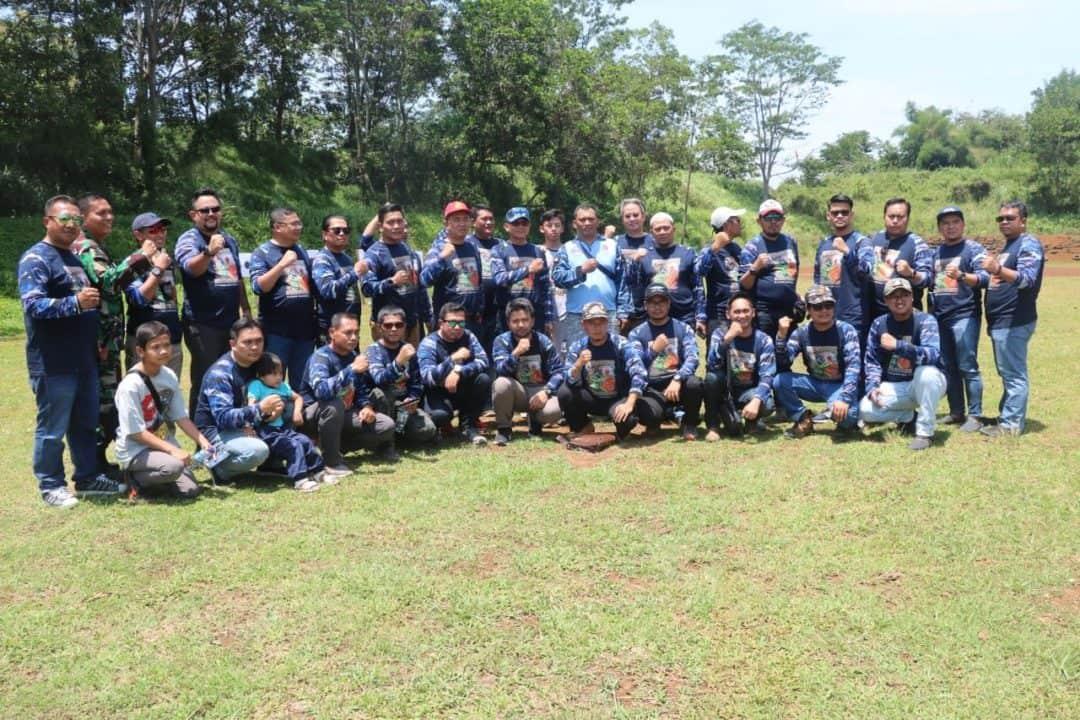 Danlanud Atang Sendjaja Ajak Instansi Dan Komunitas Di Bogor Latihan Menembak