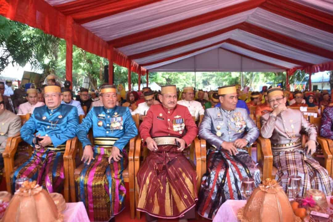 Pangkoopsau II dan Ketua PIA Ardhya Garini Daerah II Koopsau II Menghadiri HUT Ke 699 Kabupaten Gowa