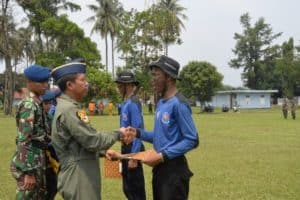 Pelatihan Dasar Pemadam Kebakaran Tingkat Kabupaten Bogor Ditutup