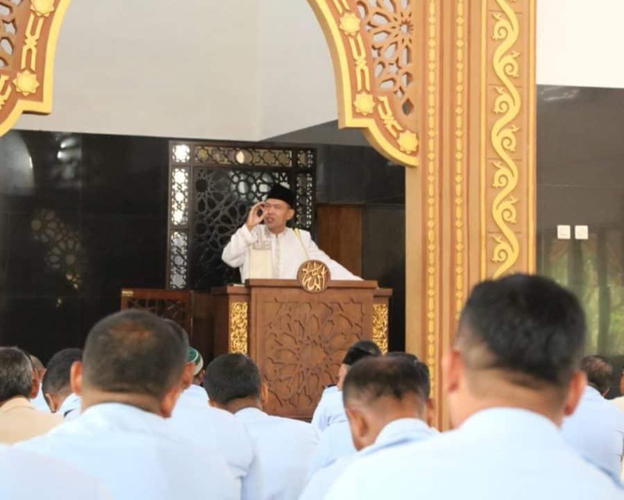 Personel AAU Laksanakan Kegiatan Ibadah dan Ceramah Keagamaan