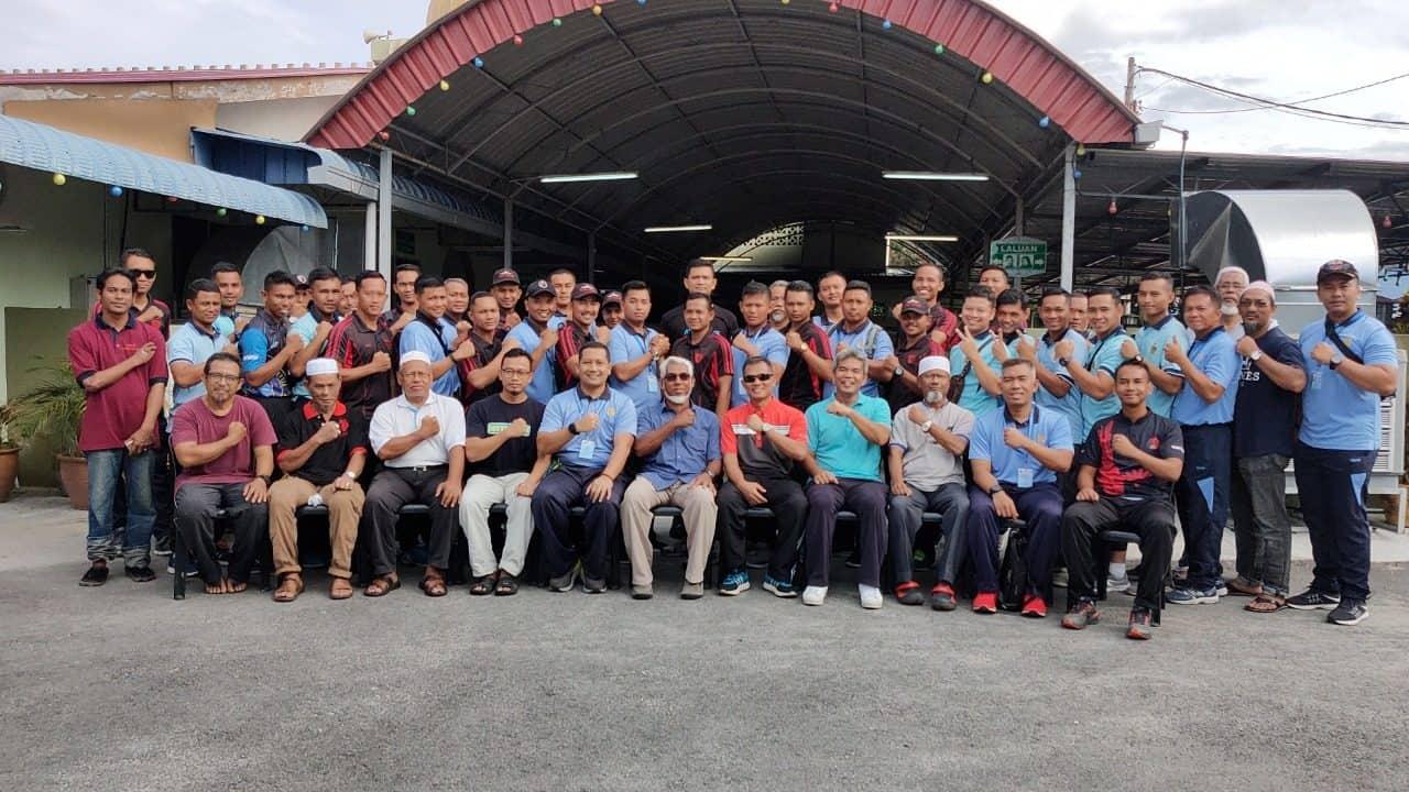 Jaga Kebugaran, Peserta Latma Elang Malindo, Gelar Sports Day